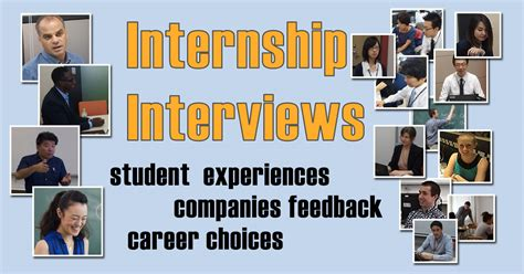 International Internships For Mba Students by Student Intern Interviews Internship Career Support