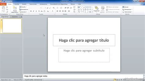 tutorial de powerpoint 2010 como insertar un video de youtube en powerpoint tutorial