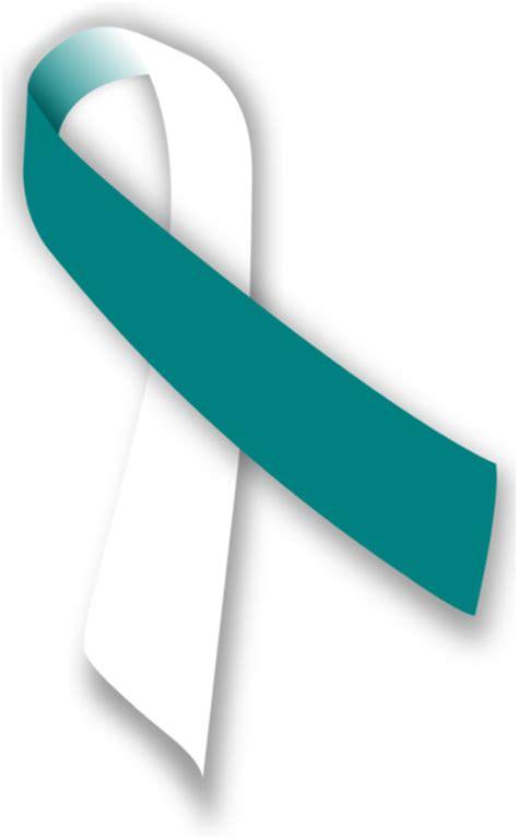 cervical cancer ribbon color cervical cancer ribbon clip cliparts co