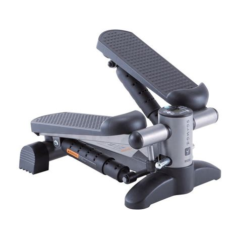 step pedana essential mini stepper black decathlon