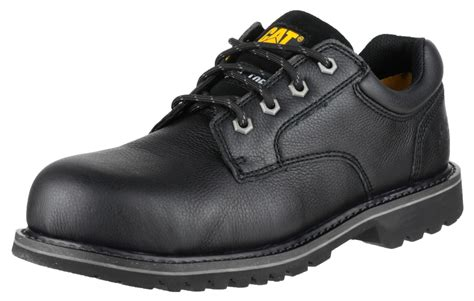 Caterpillar Low Safety Boots Black Caterpillar Cat Electric Lo Black Safety Work Shoes Ebay