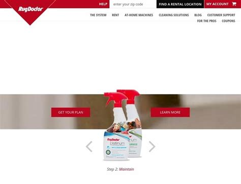 Rug Doctor Website by Rug Doctor Coupons Rugdoctor Promotional Codes