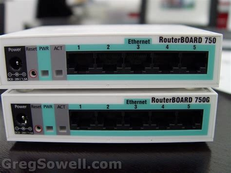 Router Rb750g mikrotik rb750g testing greg sowell consulting