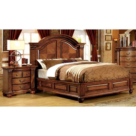 furniture of america bedroom sets furniture of america mischa 2 piece queen panel bedroom