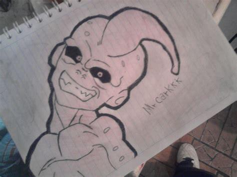 imagenes chidas que se puedan dibujar mi dibujo dragon ball buu coloreado a lapiz miren