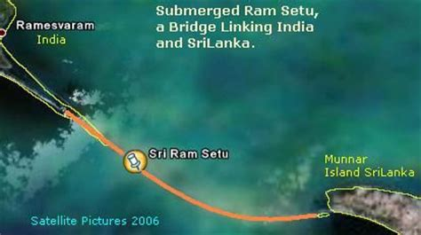 ram setu length government reluctant to declare ram setu a national