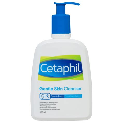 buy gentle cleanser 500 ml by cetaphil priceline