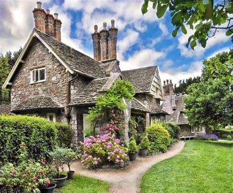 english cottage house the stone cottage architecture featured here exudes loads