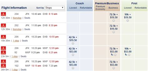 emirates schedule emirates 4th daily jfk dxb flight great award availability