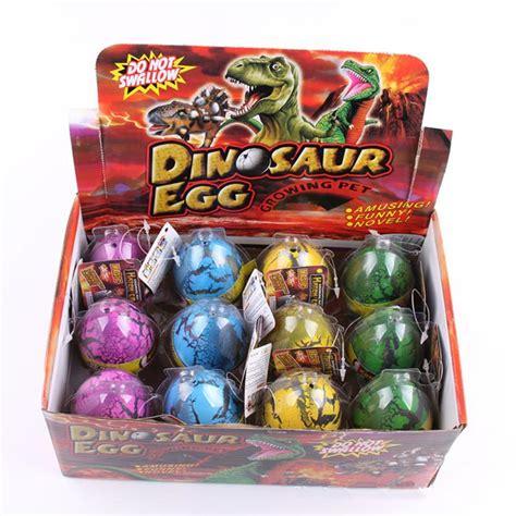 Packed Novelty Expansion Hatching Dinosaur Easter Eggs Toys Kid large size dinosaur egg expansion hatching egg toys