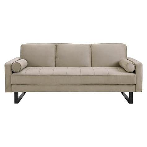 convertible sofa brown serta target