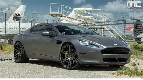 custom aston martin rapide mc customs aston martin rapide 183 vellano wheels youtube