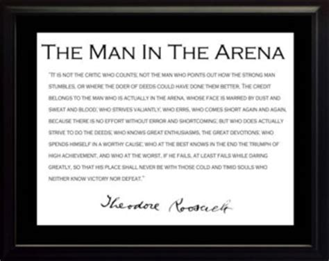 printable theodore roosevelt quotes man in the arena etsy