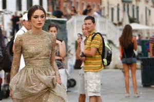 Keira Knightley At The Venice Festival by Keira Knightley Arrives At Venice Festival Abc News