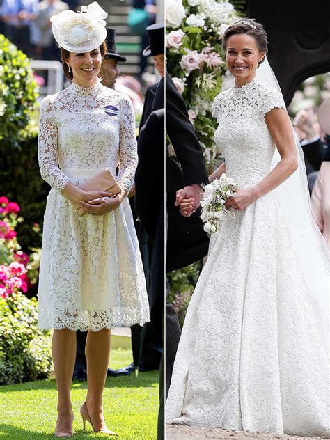 Wedding Dress Kate Middleton by Kate Middleton S Royal Ascot Dress Looks Like Pippa