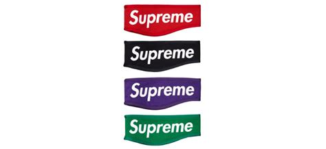 supreme web store supreme fleece headbands green label