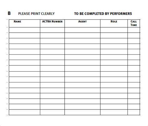 pin audition form template on pinterest