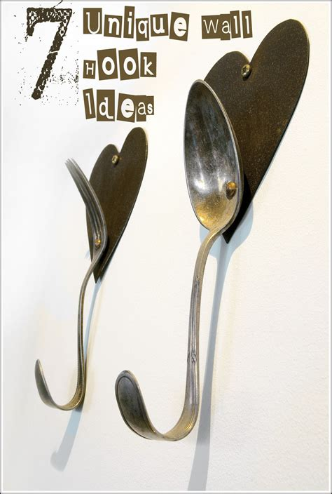 unique wall hooks 10 clever ways to hang stuff up my list of lists