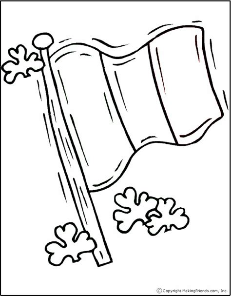 ireland coloring pages flag coloring page makingfriendsmakingfriends