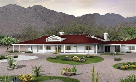 southwest style house plans southwestern house plan 5 bedrooms 4 bath 5024 sq ft plan 68 137