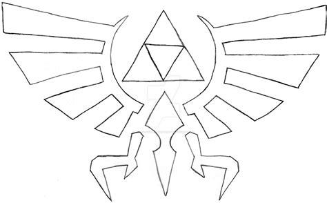 zelda triforce coloring page zelda symbol drawing www pixshark com images galleries