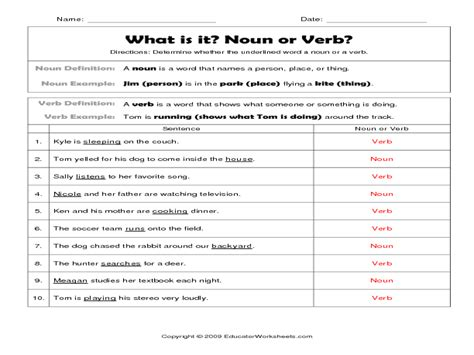 Noun And Verb Worksheets by 28 Changing Verbs To Nouns Worksheet Sp2 3 Stem