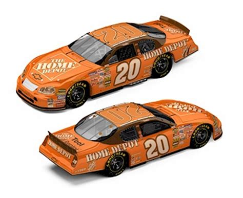 tony stewart 2005 home depot daytona win raced version