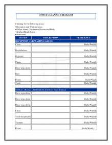 janitorial template free 7 best images of commercial cleaning checklist printable