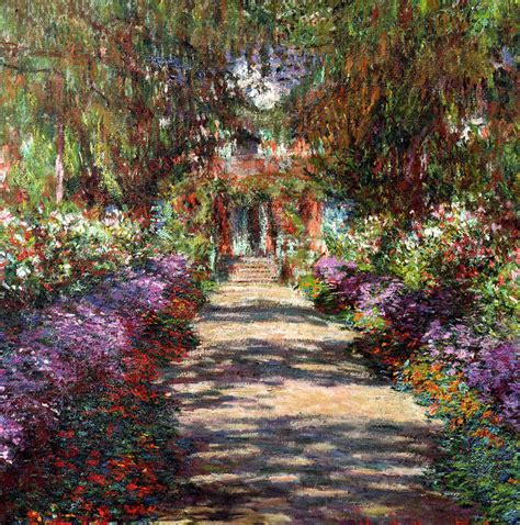 Monet Gardens by And Architecture Mainly Monet S Garden In Giverny
