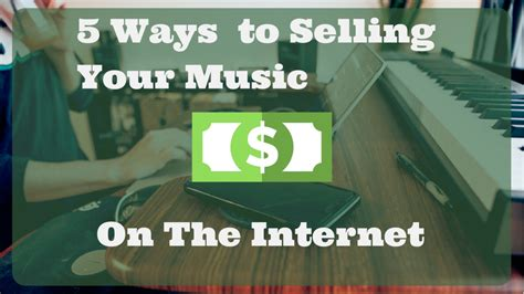 How To Make Money Selling Music Online - 5 simple ways you can make money selling your music online