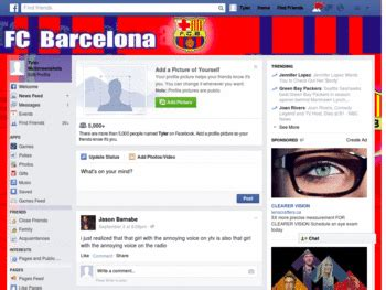 facebook themes barcelona facebook barcelona by templah com themes and skins