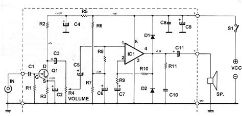 electric diagram  signal tracer