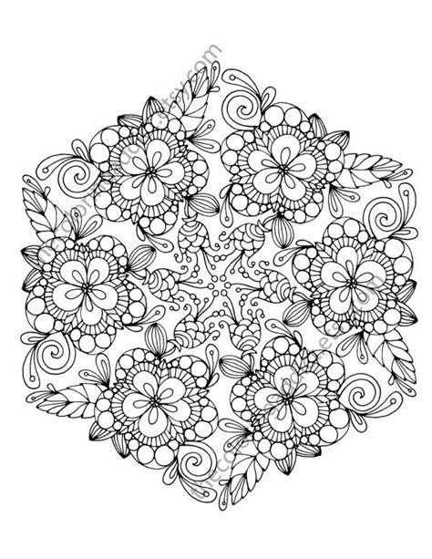 mandala coloring pages michaels 258 best images about adult coloring flowers on