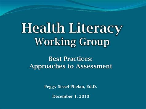 best practices in literacy fifth edition best practices in health literacy