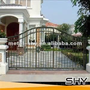 home source wholesale design center iron gate outdoor metal gate design front gate designs for