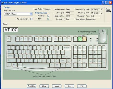 keyboard test keyboard test portable markas dunia