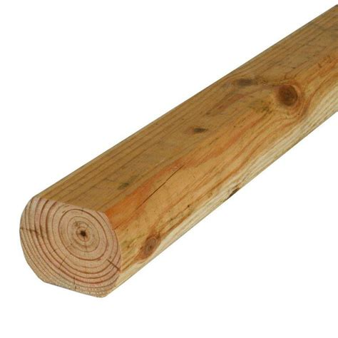 Landscape Timbers At Lowes Shop Severe Weather Actual 3 In X 4 In X 8 Ft Pressure