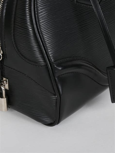 Lv Montaigne Lx 58 louis vuitton bowling montaigne gm epi black luxury bags
