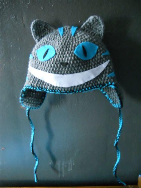 Win Win Crochet Cat Shape Hat crochet hat cheshire cat by twitcorn on deviantart