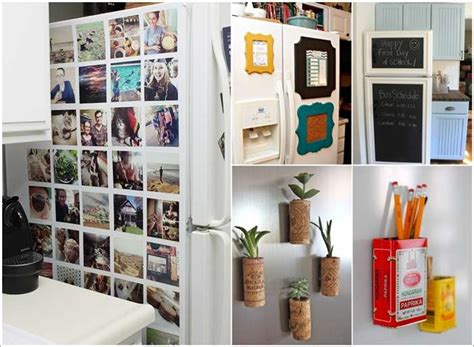 10 cool ideas to decorate your fridge door