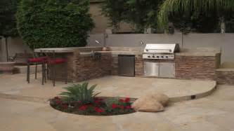 Backyard Bbq Decoration Ideas Concrete Patio Landscaping Outdoor Grill Design Ideas