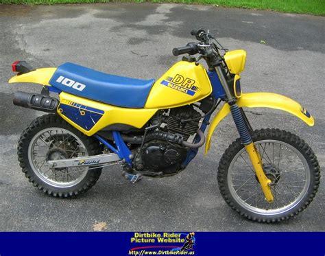 My Suzuki 1987 Suzuki Dr100 My Dirt Bike Bikes
