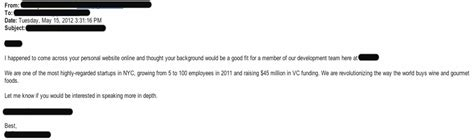 Response Letter To Headhunter Recruiter Email Images Frompo