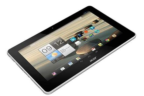 Tablet Android Acer acer iconia a3 tablet announced 10 1 inch ips display 1 2ghz cpu android 4 2 jelly