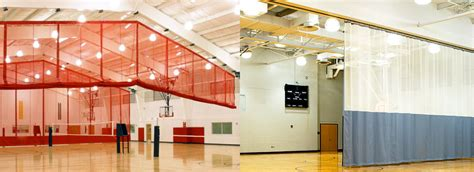 gymnasium divider curtains pin gymnasium divider curtain on pinterest
