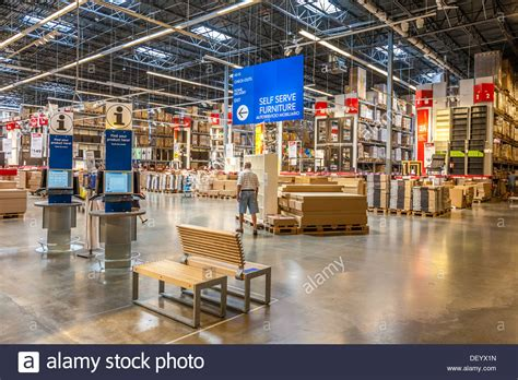 customer inside warehouse part of ikea home store stock customer inside warehouse part of ikea home store stock