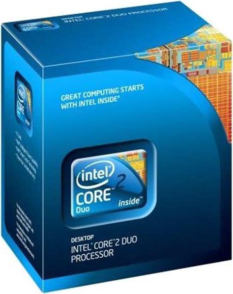 Processor Intel Core2 Duo 30ghz E8400 intel 2 duo e8400 3 00 ghz lga775 1333 fsb box