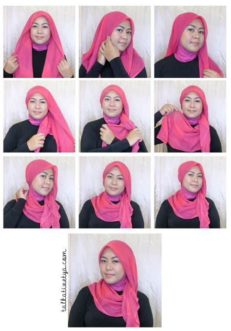 tutorial jilbab gaya turki tutorial 5 gaya jilbab paris square simple dan cantik