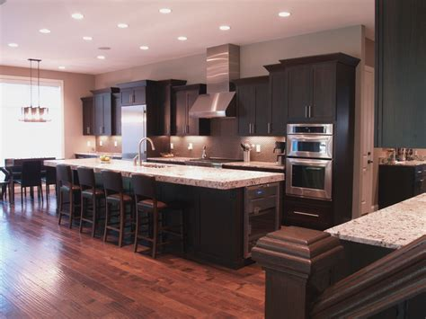 dark walnut kitchen cabinets walnut kitchen wunderwoods