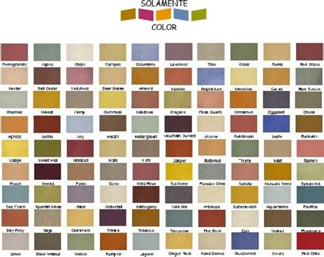 southwest color palette southwest color chart this chart isn t necessarily the